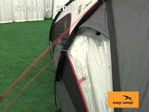 Порядок розкладання палатки Easy Camp Shadow 200