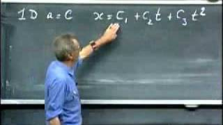 8.01 Physics I: Classical Mechanics, Fall 1999 MIT LEC 2 (4/5)