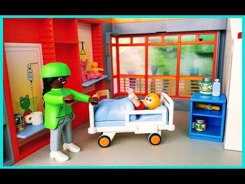 Playmobil Children's Hospital E1- Stories With Dolls