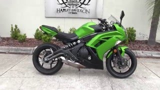 6. 2012 Kawasaki Ninja 650 for sale in tampa - As seen on craigslist