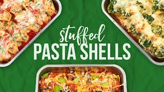 3 Stuffed Pasta Shells! by The Domestic Geek