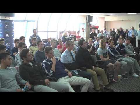 Zips Men's Soccer NCAA Selection Show 2015