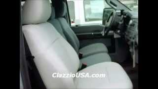Clazzio Ford F250 F350 Leather Seat Covers