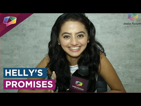 ValentinesWeek : Helly Shah makes promises on the