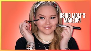 Video FULL FACE USING ONLY MY MOM'S MAKEUP Challenge | NikkieTutorials MP3, 3GP, MP4, WEBM, AVI, FLV Juli 2018