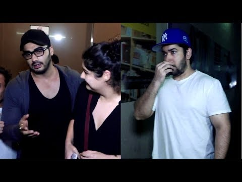 Arjun Kapoor & Rohit Dhawan Spotted At Pvr Juhu
