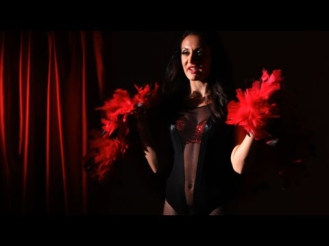burlesque dance - Watch more How to Dance Burlesque videos: http://www.howcast.com/videos/507583-How-to-Bump-and-Grind-Burlesque-Dance Learn how to work a boa in your burlesqu...