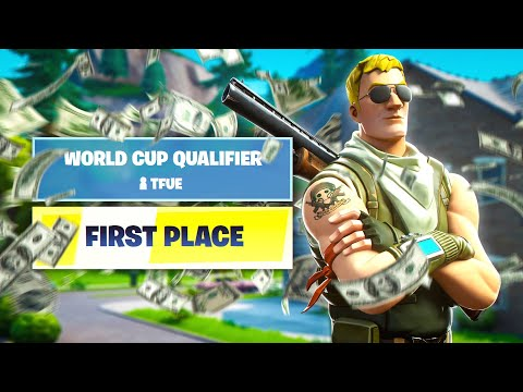 Tfue Wins 1st Place In World Cup Finals... ($3,000,000 Tournament Qualifier)