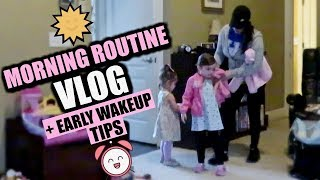 MORNING ROUTINE: MOM OF 2 + Early Wakeup Tips by Beauty Broadcast