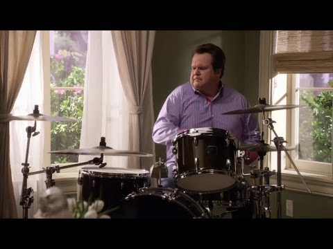 Modern Family: Cam Plays the Drums [HD]