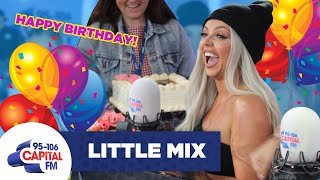 Little Mix Throw A Surprise Birthday Party For Jesy Nelson 🎂 | FULL INTERVIEW | Capital