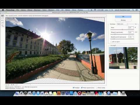 Zaawansowana korekcja perspektywy w Photoshop CS6 - poradnik wideo