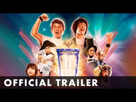 BILL AND TED'S EXCELLENT ADVENTURE - Official Trailer - Starring Keanu Reeves & Alex Winter