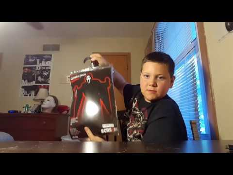Officially licensed scream 4 Ghostface costume unboxing/review