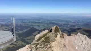 スイス発 名峰センティスSäntis山頂【スイス情報.com】