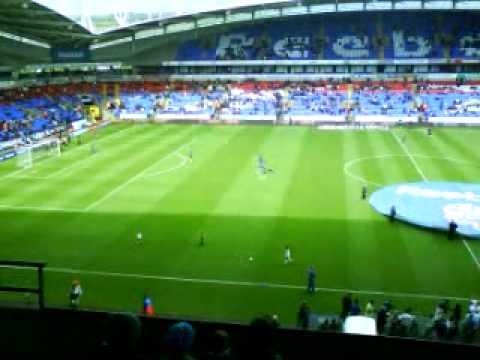 Último partido de la temporada 2009, entre el Bolton y el Hull City