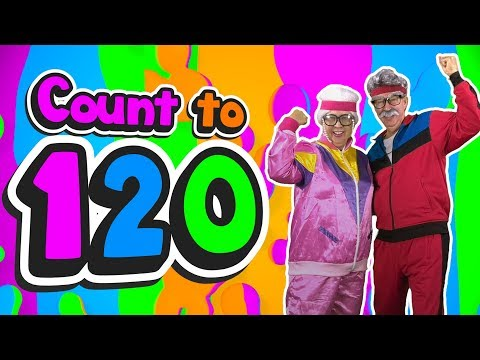 Grandma and Grandpa Count to 120 | Count to 120 | Jack Hartmann