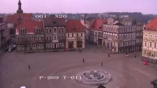 Gniezno TimeLapse - Rynek. Gniezno timelapse -  03.02.2015.