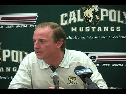 Cal Poly's Men's Soccer Assistant Coach Shaun Harris