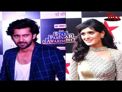 Amla and Abeer at Star Parivar Awards Red Carpet