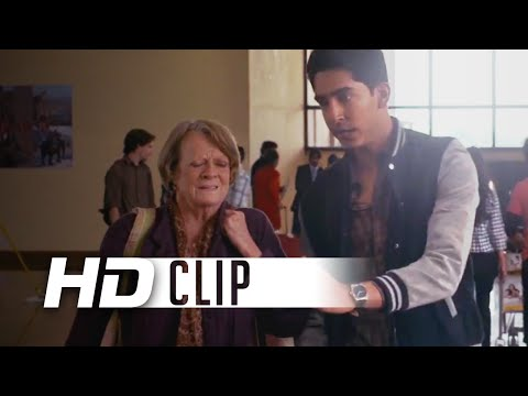 The Second Best Exotic Marigold Hotel (Clip 'Airport')