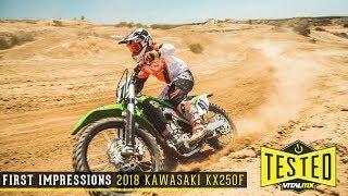 3. Vital MX First Impressions: 2018 Kawasaki KX250F