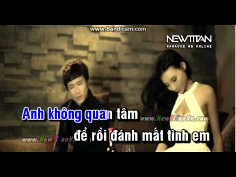 Danh Mat Cuoc Tinh Karaoke(thieu giong nu~)
