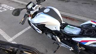 8. NEW BMW G 310 R ABS 2017 DETAILS IN 4K AND PURE SOUND