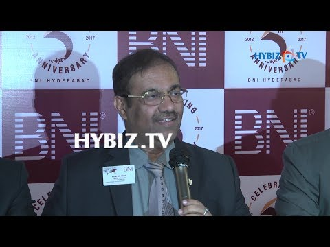 BNI Hyderabad 5 Years Celebrations Curtain Raiser