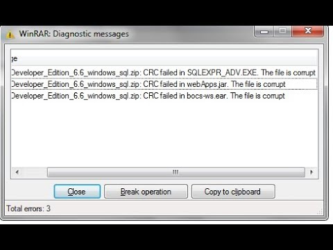 Video How to Repair RAR/ZIP Files after Archive Corrupt or Damage download in MP3, 3GP, MP4, WEBM, AVI, FLV January 2017