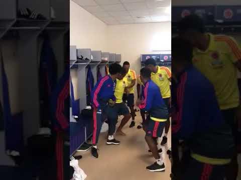 Selección colombia celebración vesturio