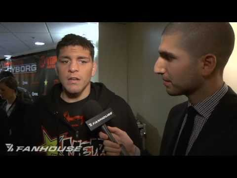 Nick Diaz PostFight Im Getting More Respect Than I Used to