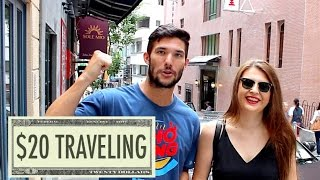Hong Kong is one of the most expensive cities in Asia, but is it possible to travel in HK with 20 dollars a day? In fact, there are two methods for traveling HK with 20 USD (155 HKD) and I'm gonna show you how it's done!Support me on Patreon: https://www.patreon.com/monkeyabroadFirst method to travel HK with 20 bucks:Book a hostel (~$18) and buy an egg sandwich at 7/11.Second method to travel HK with 20 bucks:MAKE A FRIEND, sleep on their couch, have 20 bucks left over do actually do stuff for the whole day (the method I chose).How I spent my day traveling in Hong Kong:Star Ferry ride - 3.4 HKDSubway ride - 4.5 HKDBreakfast - 25 HKDLunch - 35 HKDSubway ride - 13.5 HKDHiking Victoria Peak - FREESports drink - 19.5 HKDDinner - 55 HKDAccommodation - FREE (friend's couch)TOTAL - 155.9 HKD ($20.10)Sick BEATS provided courtesy of The Passion HiFi http://www.thepassionhifi.com/-------------------------------------------------------------------------------About Me:My name is Kevin Cook. I'm originally from Dallas, TX, but I've been living and traveling in Asia since 2013.After graduating from university in 2011 and working a few unfulfilling jobs, I saved enough money to move to Asia and work as a teacher for a few years. That opportunity allowed me to travel around and experience new foods and cultures, and ignited a passion for blogging and making videos.Now I travel full-time and make videos with the goal that I can encourage YOU to pursue your own dream of overseas traveling and living.If you enjoy watching my videos, you can help me grow my channel by giving my videos a 'thumbs up', leaving a comment, sharing them, and subscribing!Thank you :)-------------------------------------------------------------------------------Follow me on all my adventures:Blog - http://monkeyabroad.comFacebook - http://facebook.com/monkeyabroadInstagram - http://instagram.com/monkeyabroad-------------------------------------------------------------------------------