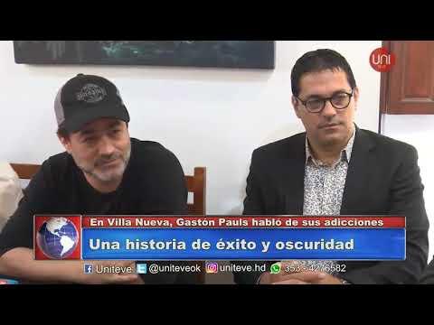 Gastón Pauls y su historia con las adicciones