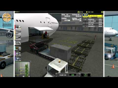 Airport Ground Crew Simulation
