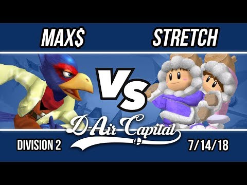 D-Air Capital 7 - Max$ (Falco) Vs. Stretch (Ice Climbers) - Division 2