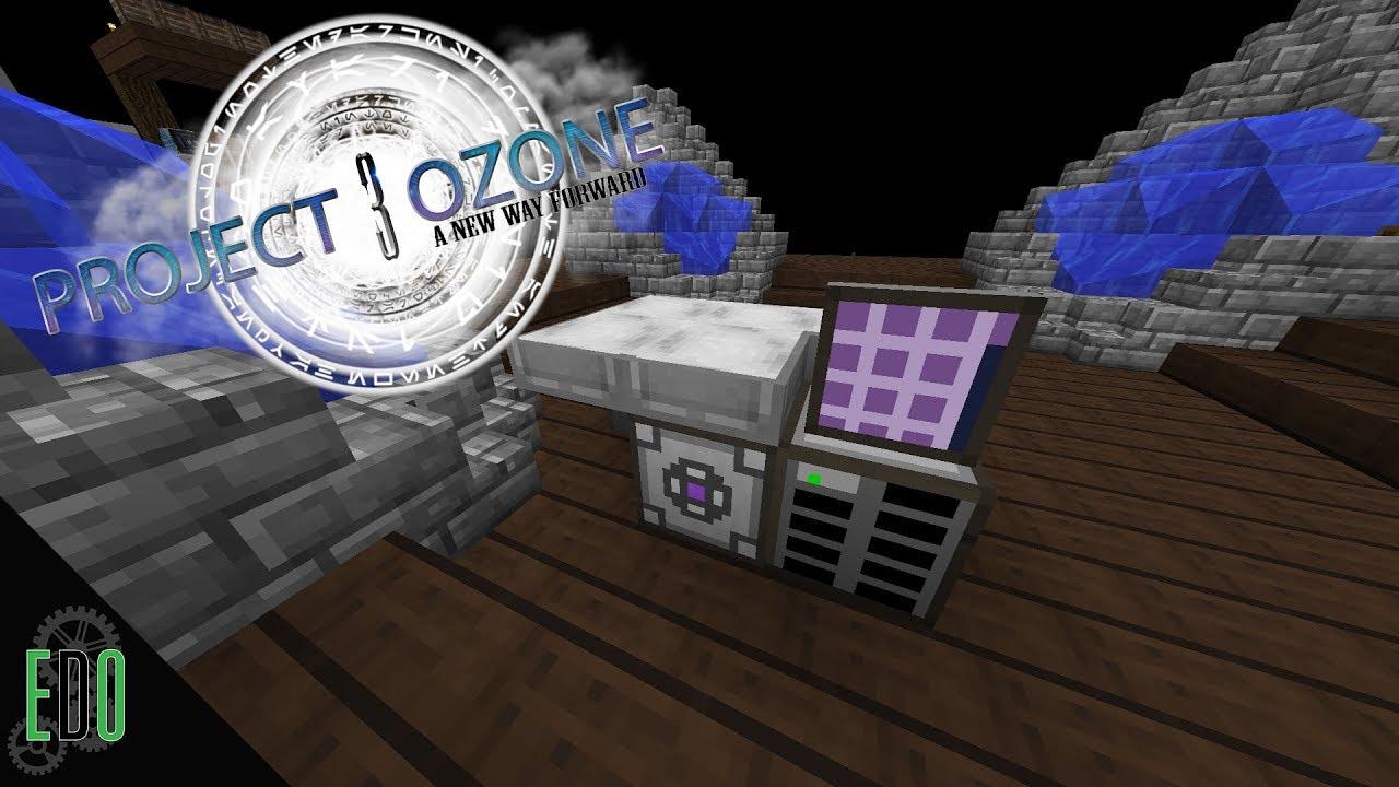 Project Ozone 3 :: Ep 8 :: Applied Energistics Storage!!!