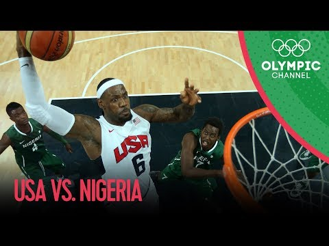 USA v Nigeria - USA Break Olympic Points Record - Mens Basketball Group A  London 2012 Olympics
