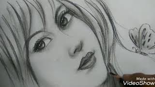 Download Video Menggambar wajah wanita cantik tanpa contoh MP3 3GP MP4