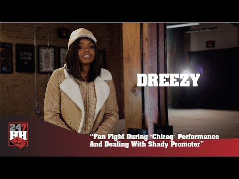 "Dreezy - Fight During ""Chiraq"" Performance & Dealing With Shady Promoter (247HH Wild Tour Stories)"