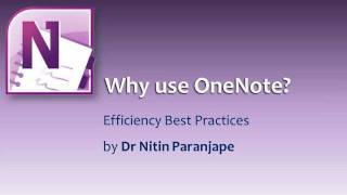Why use Onenote.wmv