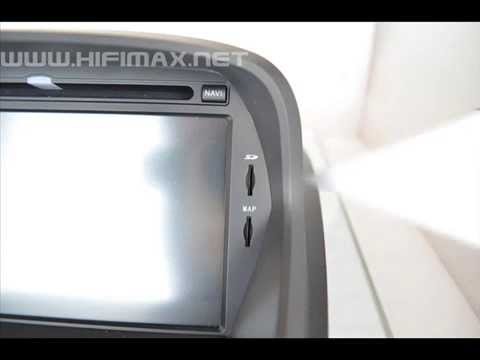 Samsung A8 CPU car dvd players, gps navigation HM-C152G speical for Ford Fiesta