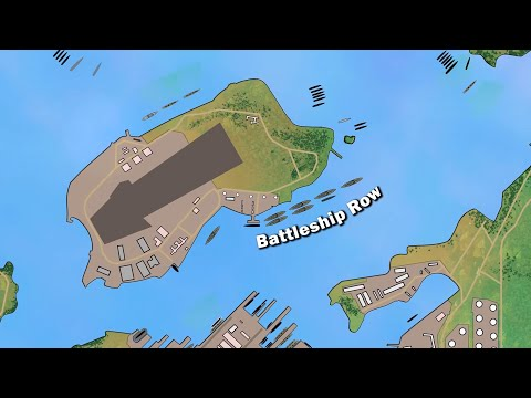Detailed animated video about the attack on Pearl Harbor