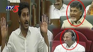 YS Jagan Makes Fun On Sensor Mikes In Assembly   TV5 News