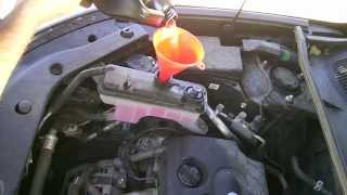 5. Toyota Rav4 2008 Antifreeze Coolant Drain and Replacement 100,000 Mile Service