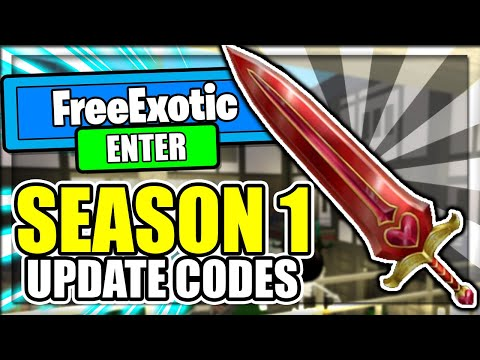 ALL NEW *SEASON 1* UPDATE CODES! Assassin Roblox