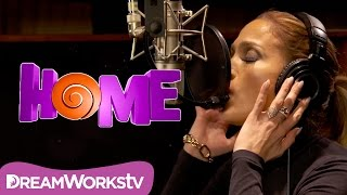 Jennifer Lopez - Feel The Light (Official Lyric Video) | HOME - YouTube