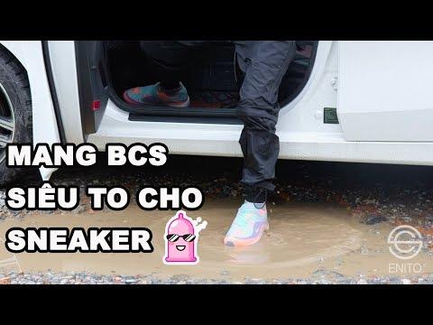 Chống ướt giày khi đi mưa với Enito Sneaker Covers - Chống ướt giày khi đi mưa với Enito Sneaker Covers