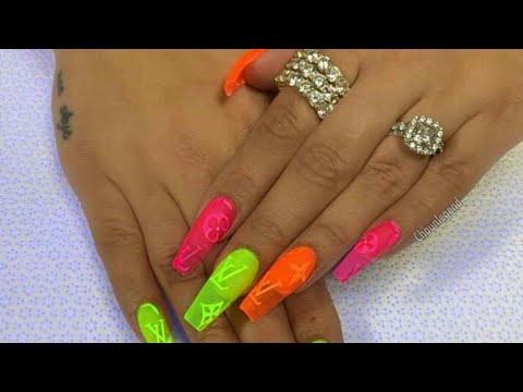 Diseños de uñas - Recreando diseño de instagram tendencia 2019 en uñas