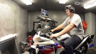 4. 2013 Honda CBR250R on the Dyno - MotoUSA